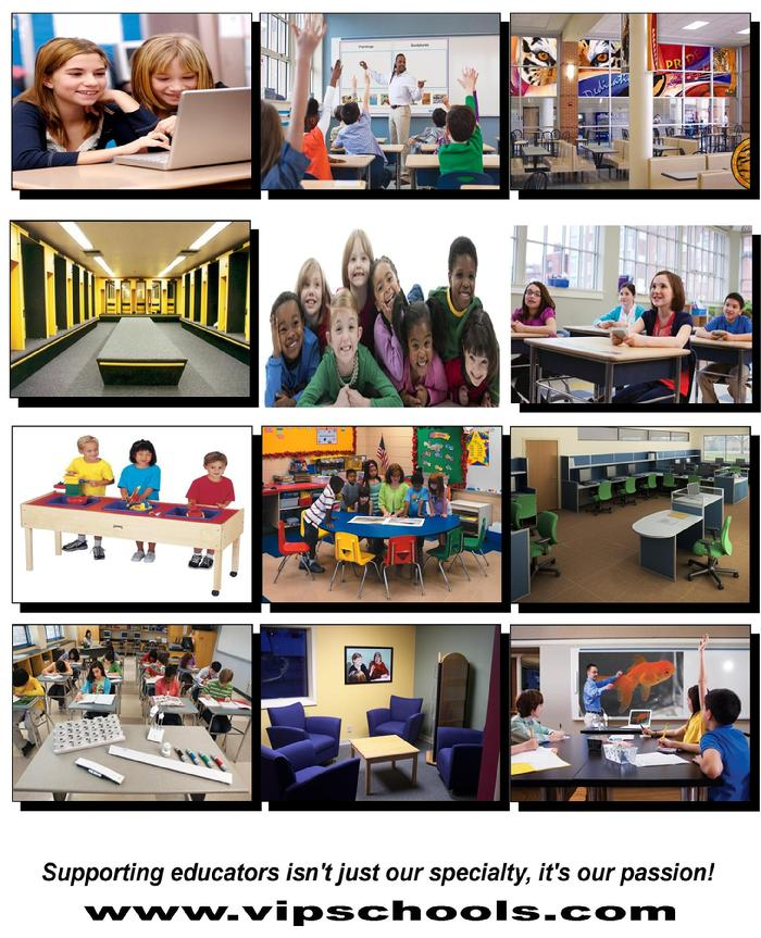 V.i.P.S. educational furniture and technology
